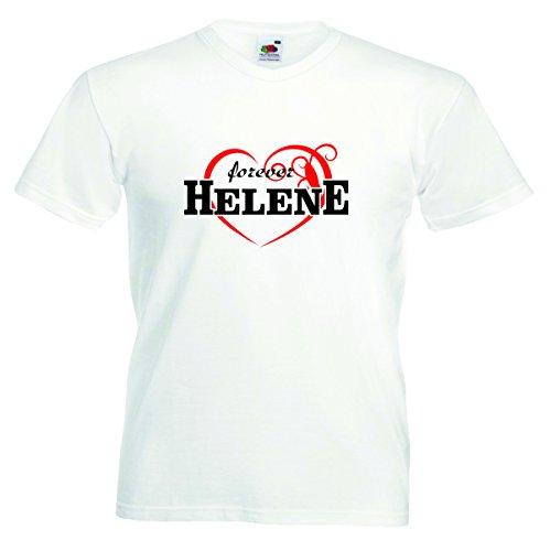 Helene Herren T-Shirt Motiv08 - Herren - Weiss - S