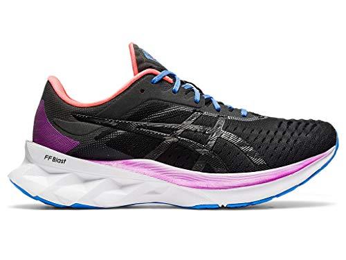 ASICS Women's NOVABLAST Running Shoes, 8.5M, Black/Black