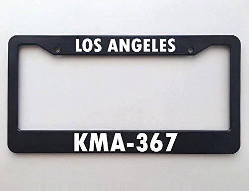 Lapd Kma 367 Police License Plate Frame Call Sign Los Angeles California Police Officer Gift Blue Lives Matter