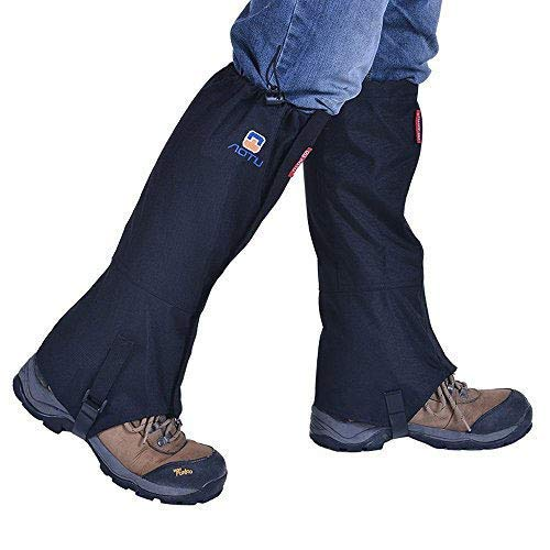 Hiking Gaiters Waterproof Breathable Leg Snow Gaiters for Women Men Walking Climbing Hunting Mountaineering Snowshoeing