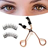 Quantum Eyelashes Magnetic False Eyelash Set Apply Magnetic Lashes Quickly and Easily to Save Time When Applying Makeup.