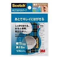(まとめ) スリーエム ジャパン スコッチ あとではがせるテープ15mmCA15-DS【×30セット】