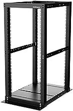 StarTech.com 25U Open Frame Server Rack - 994lb Capacity - 4 Post Adjustable Depth (18.3