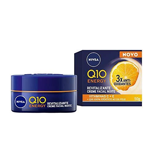 NIVEA Creme Facial Antissinais Noite Q10 Plus C 50ml, Nivea