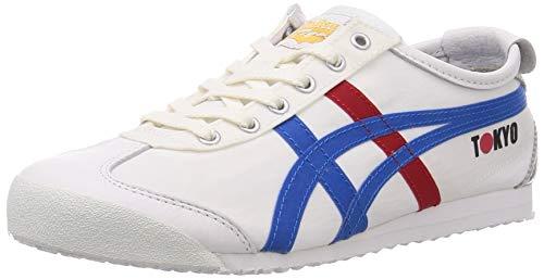 Onitsuka Tiger 1183A730-100_44,5, Zapatillas Hombre, Blanc Bleu...