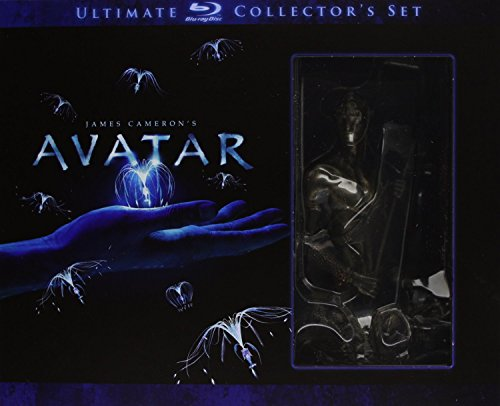 Avatar (ultimate blu-ray collector's set+libro+action-figure di Jake Sully+fotogramma da collezione) [IT Import]