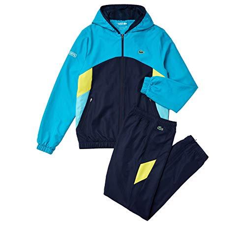 Lacoste Sport Colorblock Hooded Traininganzug Herren