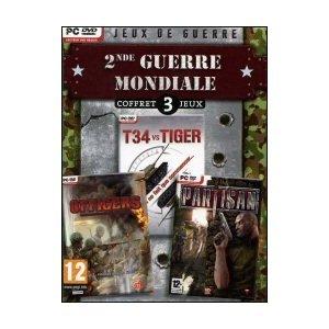 Seconde guerre mondiale coffret 3 jeux PC