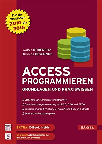 Access programmieren: Grundlagen und Praxiswissen. Für die Versionen 2010, 2013 und 2016