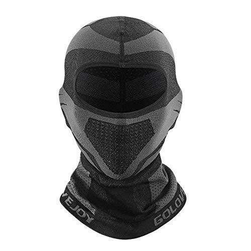 Cubrepañuelos integrales de bicicleta Balaclava casco de esquí portátil cortavientos para la...
