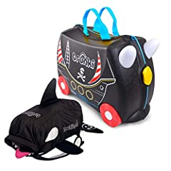 EXCLUSIVE BUNDLE - FREE Paddlepak Swimbag with your purchase of Pedro the Pirate Ride on Suitcase BOREDOM BUSTING – Sit-On, Ride-On, Carry-On; keep toddlers entertained through the airport, at destination and away from home STRESS LESS – Multi functi...