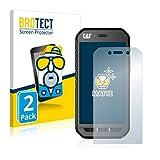 BROTECT 2X Entspiegelungs-Schutzfolie kompatibel mit Caterpillar Cat S41 Bildschirmschutz-Folie Matt, Anti-Reflex, Anti-Fingerprint