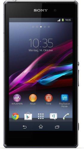 Sony Xperia Z1 (C6903) - Smartphone Vodafone, Libre Android (Pantalla 5', cámara 20.7 MP, 16 GB, 2.2 GHz, 2 GB RAM), Negro