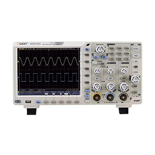 WEI-LUONG Osciloscopio OWON XDS2102A 12BITS Resolución Vertical 100MHz 1GS / S 8