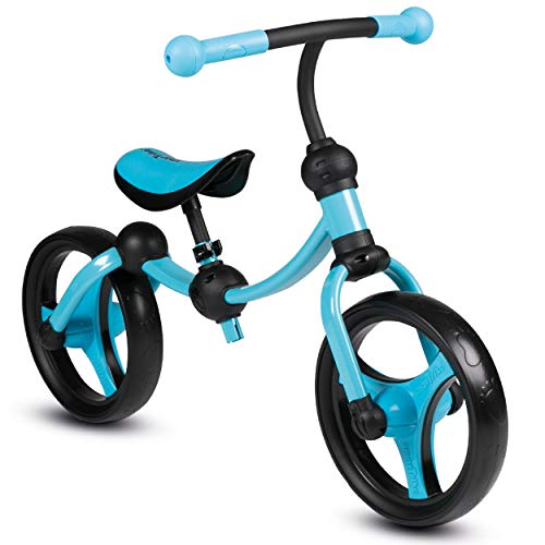 smarTrike Toddler Balance Bike 2,3,4,5 years old - Lightweight & Adjustable kids Balance Bike, Blue