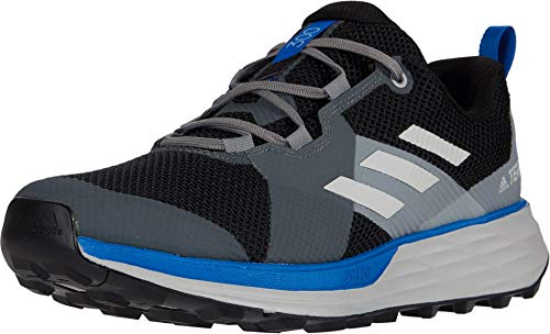 adidas Terrex Two Trail Running Shoes Men's, Black, Size 12