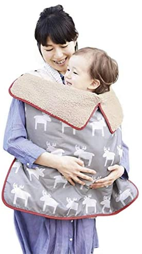Baby Windproof Water Resistant Stroller Cover Blankets with Clips Warm Sherpa Inner Car Seat product image