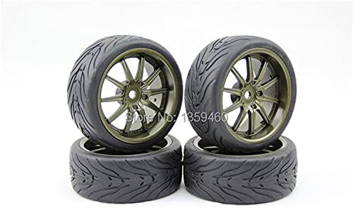 GzxLaY 4pcs 1 10 Touring Tires W10S3BR Painting B Rim Wheel Tyre Our shop Max 46% OFF OFFers the best service