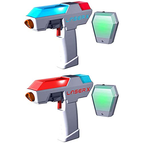Laser X Micro Double Set | Laserspiel-Set für Kinder ab 6 Jahren! - LX053