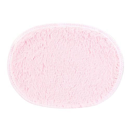 KEAINIDENI toiletmat 30 * 40cm Ovaal toiletmat Anti-Skid Fluffy Shaggy Area Tapijt Thuis Slaapkamer Badkamer Vloerdeur Mat Badkamer Tapijt Toilet Badmatten roze