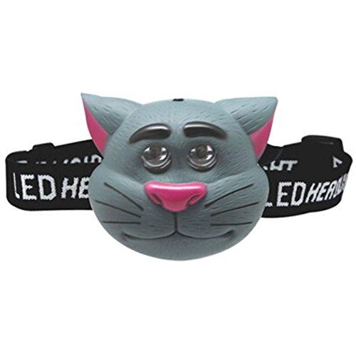 Tête de la torche Camping Bright Light Lamp enfants Nuit headlamp de l'animal enfants LED (CAT)