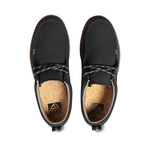 Reef Men's Cushion Skimmer RS Sneaker, Black Gum, 8 UK