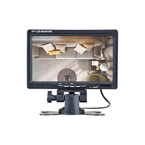 7 Zoll AV tragbarer Monitor 800 * 480 IPS Monitor, Av-Schnittstelle,Wird in Sicherheitsüberwachungssystemen verwendet,JOHNWILL