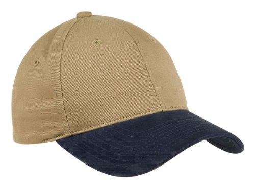 Port Authority Men's Two Tone Brushed Twill Cap