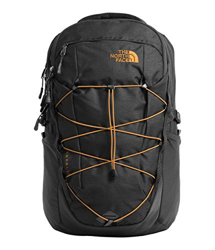 The North Face Borealis Men's Backpack, Asphalt Grey Dark Heather/Citrine Yellow