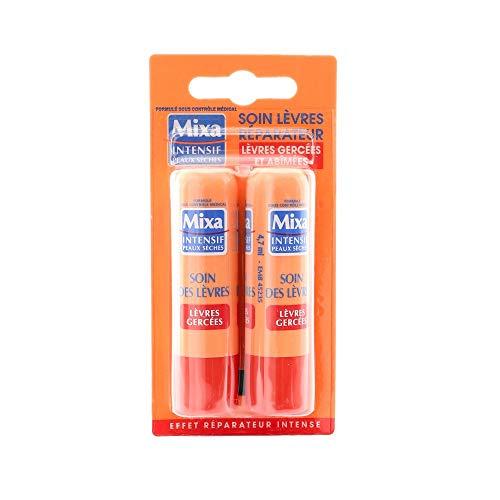 MIXA - Baume à lèvres - Réparateur - Lot de 2x 4.7ml