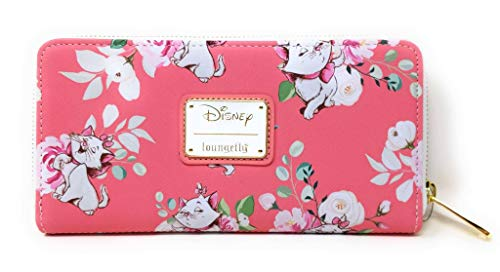 Loungefly X Disney The Aristocats Marie Pink Floral AOP Wallet