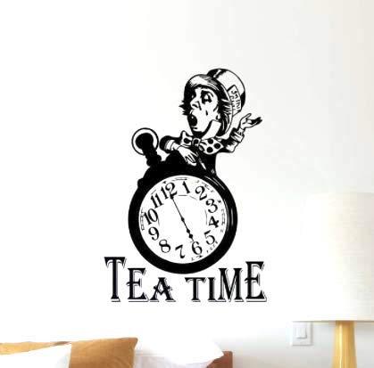 Alicia en el País de las Maravillas, Sombrerero Loco, Tiempo del té,...