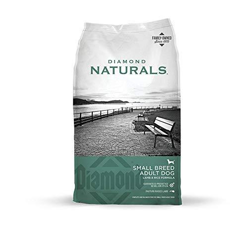 Diamond Naturals Small Breed Dog Real Lamb Recipe Premium Dry Dog food, 18 lb
