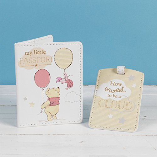 Disney Magical Beginnings Winnie the Pooh Passport Cover & Luggage Tag Set DI427