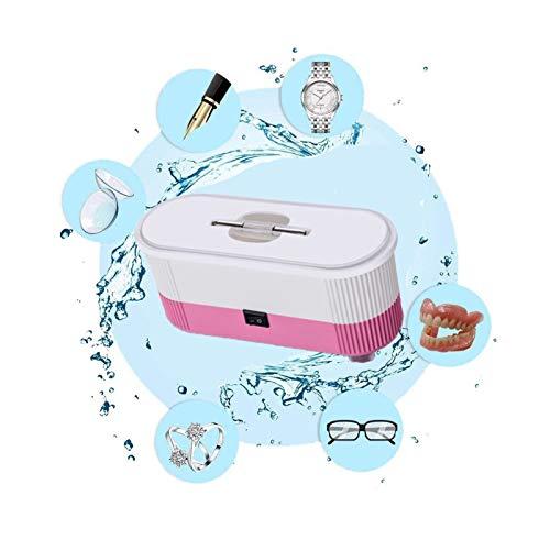 Ultrasonic Jewelry Cleaner Machine, Mini Cleaning Machine, Multifunctional...