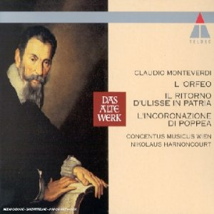 Monteverdi: L'Orfeo / Il Ritorno d'Ulisse in Patria / L'Incoronazione di Poppea - 9CDs