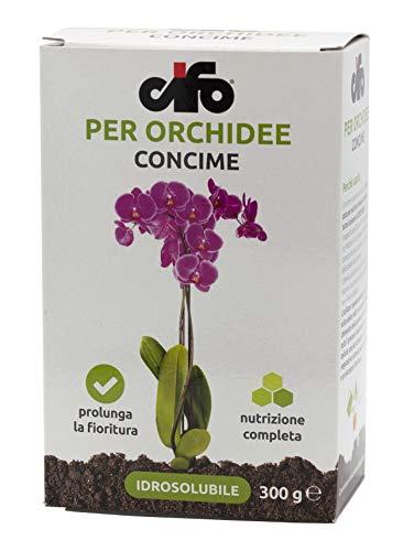 Cifo Concime idrosolubile per Orchidee 300 gr