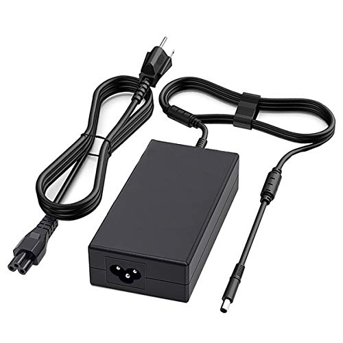 180W AC Charger Fit for Dell Precision 7510 7710 7520 7530 OptiPlex 3011 AIO XPS 17 L702X Alienware Alpha ASM-R2 450-AGCU LA180PM180 DA180PM111 Laptop AC Adapter Power Supply Cord