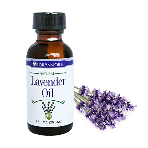 LorAnn Super Strength Lavender Oil, Natural Flavor, 1 ounce bottle