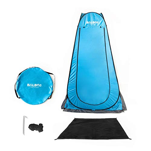 Outdoor Shower Tent - Outdoor Toilet – PopUp Privacy Tent for Portable...