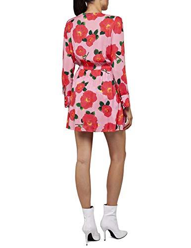 REPLAY W9614 .000.72110 Vestido, Multicolor (Multicolor 010), Large para Mujer