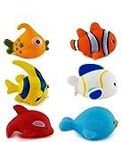 FunBlast Bath Toys for Baby - Colorful Fish Bath Toys | Toddler Ba