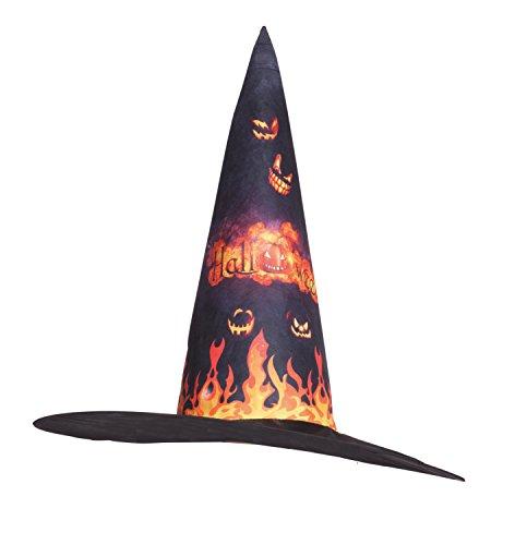 Boland Chapeau de sorcière Citrouille Halloween