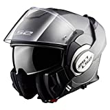 Astone Helmets Casco modular Ls2 Valiant Titanium mate