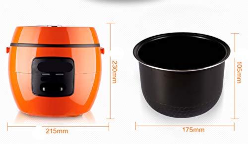 Rijstkoker hoogwaardige binnenpot warmhouden functie spatel maatbeker rijst voor maximaal 2-4 personen 2 l