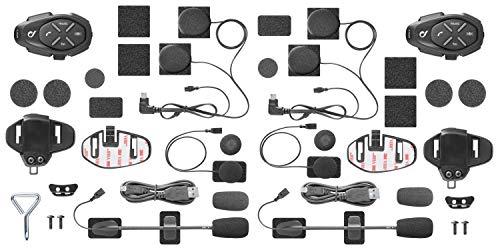 Interphone INTERPHOLINKTP Interfono da Moto Bluetooth, Nero