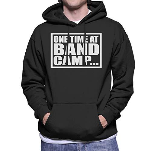 Cloud City 7 One Time bij Band Camp American Pie Heren Hooded Sweatshirt