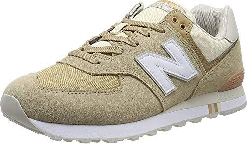 New Balance Herren 574v2 Sneaker, Brown (Hemp Hemp), 40