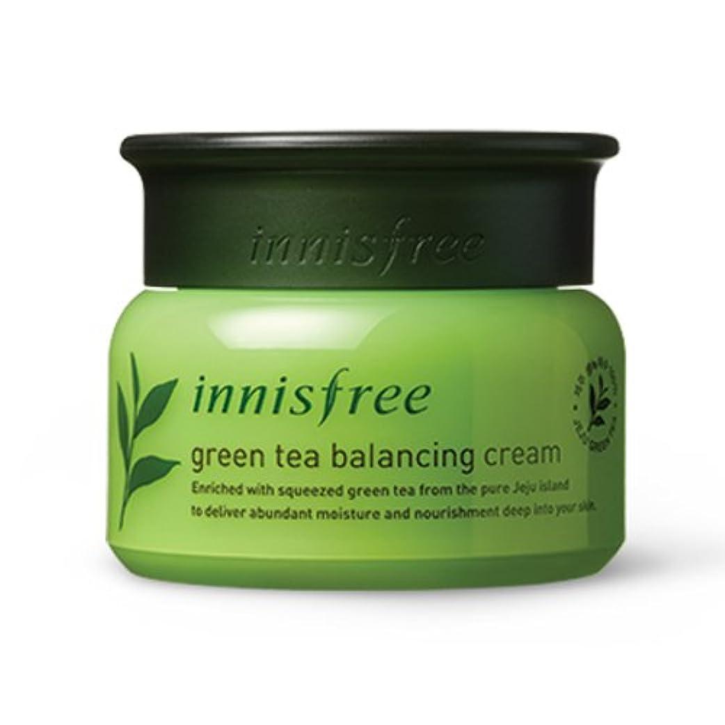 蛾思い出させるうめき[INNISFREE]イニスフリーグリーンティーバランシング クリーム 50ml green tea balancing cream50ml