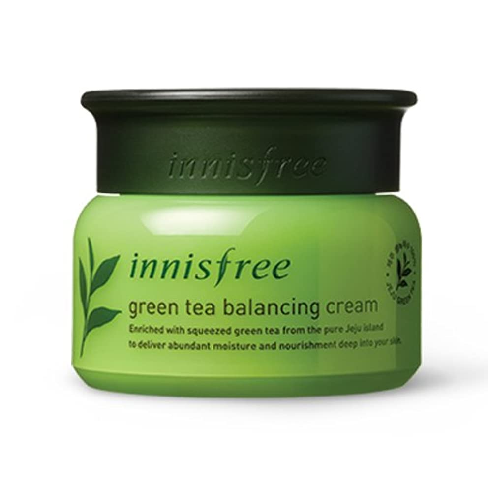 通貨踊り子各[INNISFREE]イニスフリーグリーンティーバランシング クリーム 50ml green tea balancing cream50ml